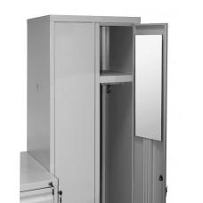 Зеркало в металлический шкаф Классик-10 (200*600)