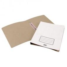Папка-скоросшиватель картонный широкий корешок 3см