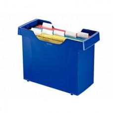 Бокс для подвесных папок Dudable с 5-ю папками синий