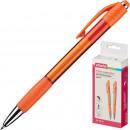 Ручка шариковая Attache Happy, автоматическая, 0,5 мм, синяя, корпус оранжевый