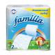 Бумага туалетная Familia/Радуга 2-х слойная  белая 4шт/упак