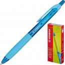 Ручка шариковая STABILO Performer. одноразовая, синяя  (0.35 мм)