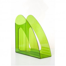 Вертикальный накопитель 85 мм Attache пластиковый зеленый