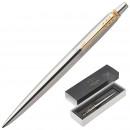 Ручка гелевая Parker Jotter GT цвет чернил черный цвет корпуса серебристый