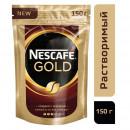 Кофе Nescafe Gold, 150г в пакете, растворимый