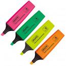 Набор текстовыделителей 4цв. Attache Colored 1-5мм