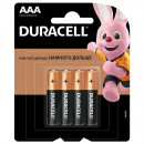 Батарейки Durasell ААА LRO3 4 шт/упак