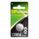 Батарейки GP CR2016, 3V, литий,
