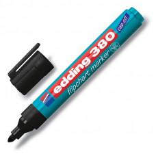 Маркер для письма на бумаге Edding Е-380 черный