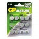 Батарейки GP  таблетка ACM01-CR12 (12 штук/упак)