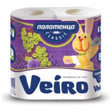 Полотенце бумажное Viero 2-х слойные 2 шт/упак