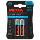Батарейки Promega jet AA LR6 (2 штук в уп)