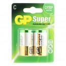 Батарейки GP Super C/LR14 2 штуки/упак