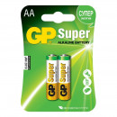 Батарейки GP AA/LR6/1,5V алкалин. бл/2шт