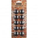 Магнитные держатели 3 см (10 шт) набор цвет Attache Loft HDF черный