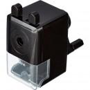 Точилка механическая Attache, 8 мм, фиксация карандаша, чёрная