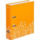 Папка регистратор Attache Fantasy 75мм ламинир.оранжевая
