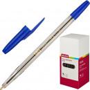 Ручка шариковая Attache Corvet синяя (0.7 мм)