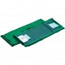 Насадка МОП 40 см, A-VM микрофибра 40x13 см зеленая