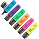 Набор текстовыделителей 6цв. Attache Colored 1-5мм