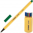 Линер Stabilo Point 8820-02 0,4мм набор 20шт/пенал