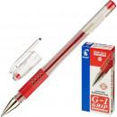 Ручка гелевая Pilot BLGP-G1-5 красная с резин.манжетой