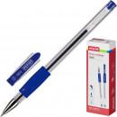 Ручка гелевая Attache ToWn,с резиновой манжеткой, синяя