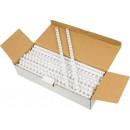 Пружины пластиковые для переплета 32мм белая (50шт)