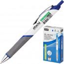 Ручка гелевая Attache Selection антибактер, мет.клип, 0,7мм,черный