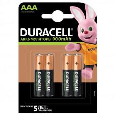 Аккумулятор DURACELL Recharge AAA/HR03-4BL Ni-Mh 900mAh 4 штуки