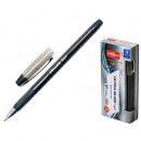 Ручка шариковая Unimax Ultra Glide Steel, маслянная, черная (0.8 мм)
