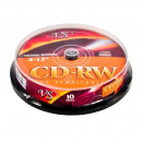 Диск CD-RW VS 700 Mb 4-12x (10 штук в упаковке)