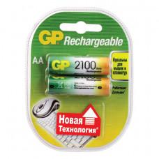 Аккумулятор GP AA 2100 мАч (2шт/блист)