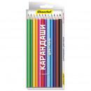 Карандаши цветные набор  12 цветов
