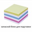 Блок бумажный 9*9*5 без склейки цветной