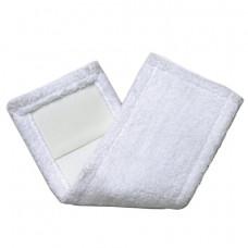 Насадка МОП 40 см, плоская для швабры/держателя 40 см, карманы (ТИП К), микрофибра