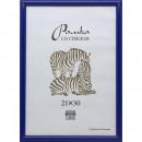 Рамка для сертификатов 21х30 пластиковый багет синего цвнта