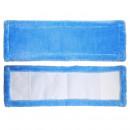 Насадка МОП 44 см, Soft Touch микроволокно/полиэстер/вискоза 44x14 см голубая