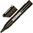 Маркер перманент Kores 1 мм черный, скошенный 3-5 мм