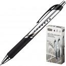 Ручка гелевая Attache Selection Galaxy, автоматич.,черная