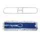Держатель-рамка для швабры Проф с насадкой МОП завязки, хлопок, 60см