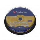 Диск DVD-RW  на шпинделе 10 шт/упак