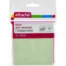 Блок бумажный с липким слоем 76*76  зеленый