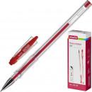 Ручка гелевая Attache City,красная