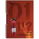 Журнал инструктажа по противопожарной без-ти А-4 ,на спирали, прошитый