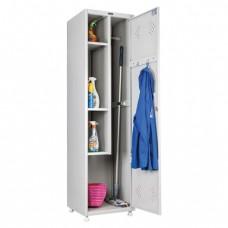 Шкаф металлический хозяйственный  2 отделения, разборный(290535)