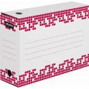 Архивный короб Attache Selection гофрокартон белый 102х251х355 мм