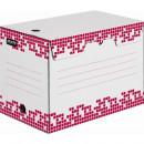 Короб архивный Attache Selection гофрокартон белый 202х251х355 мм