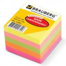 Блок бумажный с липким слоем  51*51  5 цветов 400л Brauberg