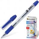 Ручка шариковая BRAUBERG Samurai, толщ.письма 0,7мм, резиновым держат., синяя